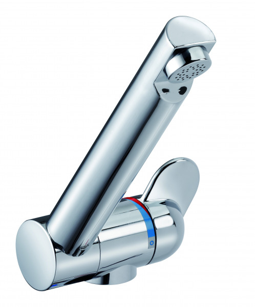 Reich single-lever mixer STYLE 3000, Ø 33 mm, projection straight, vertically rotatable, chrome, with microswitch