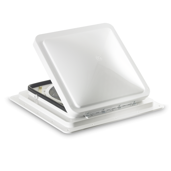 Dometic FanTastic Vent 7350, 400 x 400, with white dome