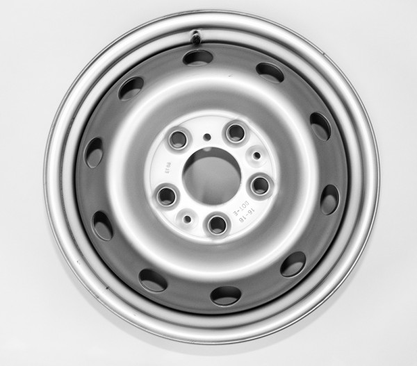 1x Steel Wheel for Fiat Ducato, 16 inch, Maxi chassis