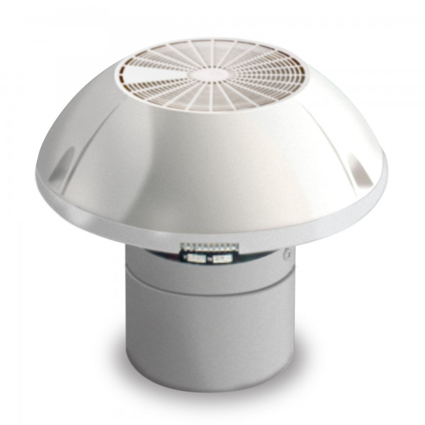 Dometic GY11 Roof Ventilator with engine, 2-stages, grey