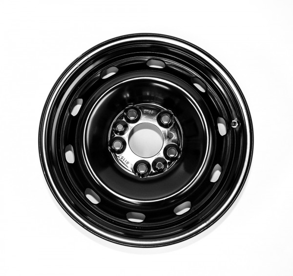 4x original FIAT steel wheels for Ducato, 16 inch, Light chassis