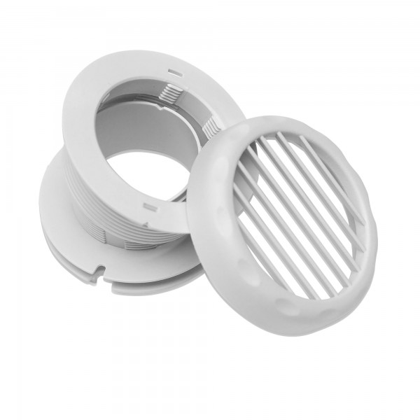 Air outlet grill FW-ADG, 3 parts, Ø 60 mm, for Dometic FreshWell 3000