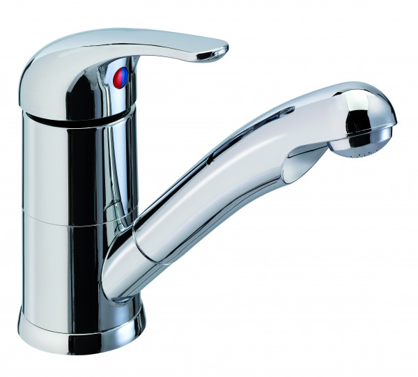 Reich single-lever mixer ceramic KAMA, chrome, with microswitch