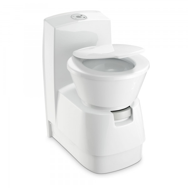 Dometic CTW 4110 cassette toilet with ceramic inlay & flush water tank