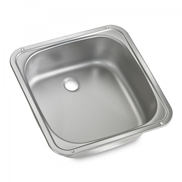 Dometic VA 910 stainless steel sink/wash basin, 370 x 370 mm