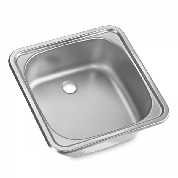 Dometic VA 932 stainless steel sink/wash basin, 380 x 380 mm