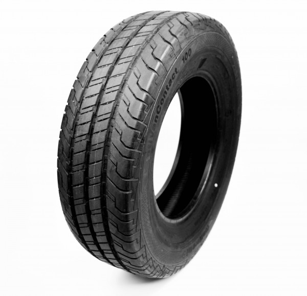 4x Summer tires Continental VanContact 100, 225/75 R16 C 121/120R, DOT 3519