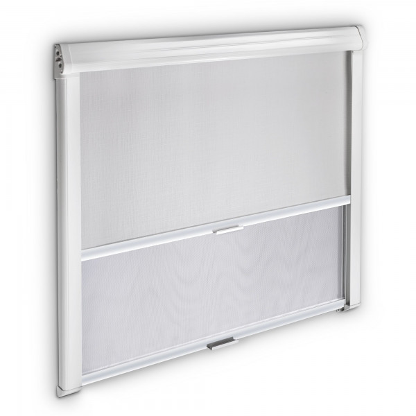 Dometic Black-Out Roller Blind 3000, 1260 x 710 mm, grey-white