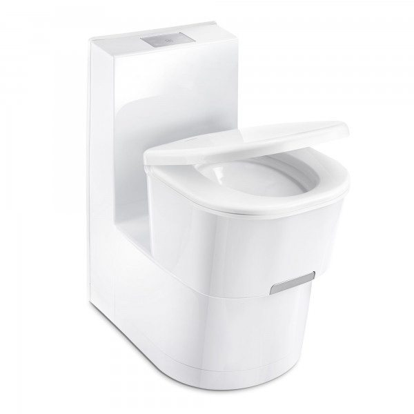 Dometic SANEO CW cassette toilet with ceramic inlay & flush water tank
